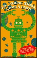 Robot Baby Shower Invite by markwelser