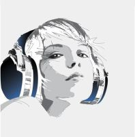 Headphone_Girl by koenmok