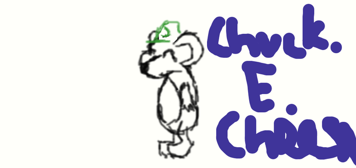for chuck.e.cheese person by Wollica