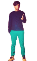 Louis  Tomlinson PNG by NahSmiles