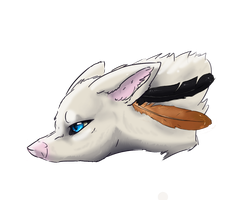Fox Feather by ScraptorProductions