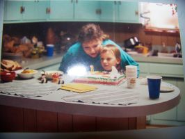 Me and my Mom at my 4th birthday (1991) by jhwink