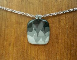 Four Tone Grey Pendant by MadeWithMore