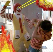 Possessed Ronald by cantorna
