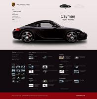 Porsche cayman design by PaulNLD