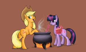 Apple Soup by Cave-Shinobi