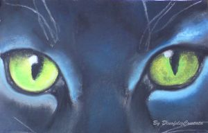 eyes of Hollyleaf by Jei-Dinofelini