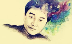 Leslie Cheung-II by r2born