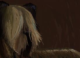 Skye Terrier by FeathersAndInk