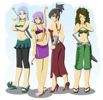 My Female Team For Hire by hect06