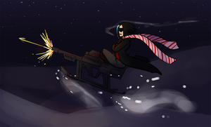 GunSled is the new Sleigh by Anatomical-Automaton