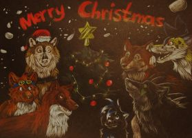 MERRY CHRISTMAS 2012! by Sally-Ce