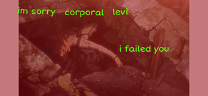 i failed you corporal by Roxaslover1998