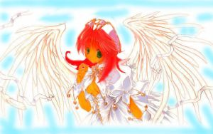 Starfire........angel by SuCUbuS001