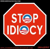 Stop Idiocy by RedTusker