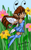 Fairy Girl by kittycatchan