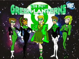 The New Green Lanterns by KiteBoy1