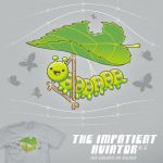 The Impatient Aviator (v2) - tee by InfinityWave