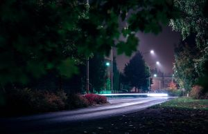 Evening road by RLPhotographs