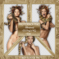 Photopack Png Rihanna by Emifloow