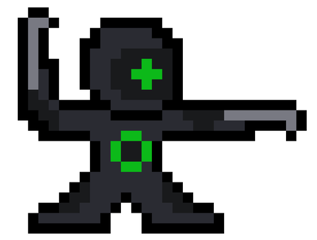 Cyber Defender Green by Volgaria99