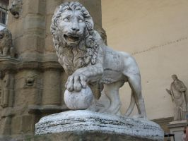 Lion statue Stock by Malleni-Stock