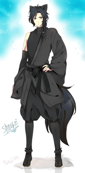 ~COMMISSION to Momilkie: SHOUHEI by hyuugalanna
