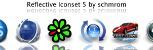 Reflective Iconset 5 by schmrom