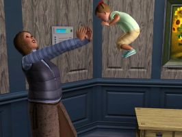 Sims 3 WTF toddler glitch by TheSimsGirl