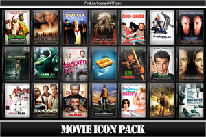 Movie Icon Pack 24 by FirstLine1