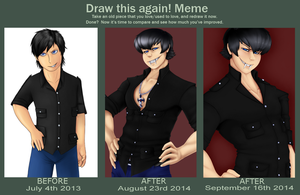 Draw This Again: Nero Capello (2013 - 2014) by Nero-Blackwing