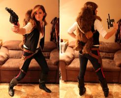 Han Solo Costume by loveandasandwich