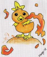 Torchic Badge by mangalover2006