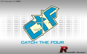 Catch the Four logo v1 by creynolds25