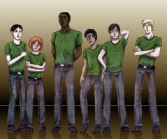 District boys 1 by SilverVanadis