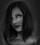 Self portrait - speed painting by Nyrine