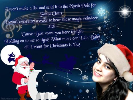 All I Want For Christmas Is You by regis28brittany