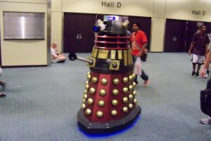 Dalek on the Prowl by Dinalfos5