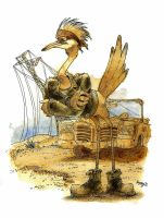 I'mma Roadrunner Honey by Sicko-Sis