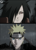 Madara and Naruto by Trazo17