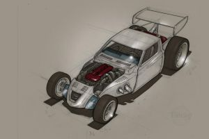Datsun 620 Rod_WIP by tincap