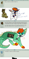 Ask my characters part 3 (animated ish) by pepsimutt
