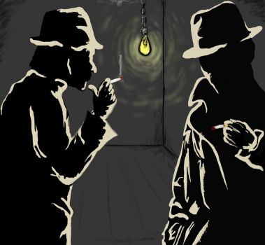Shadowy Detectives by ThomLawAnimations