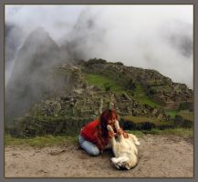 Appointment at Machu Picchu by faondejade