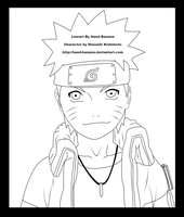 Another Naruto pic Lineart by Hand-Banana