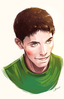 Colin Morgan by Syllirium
