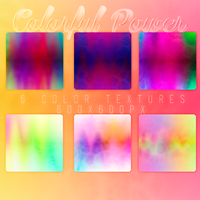 6 Color Textures by BitchesImAwesome