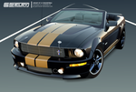 Shelby GT-H Convertible Vector by spammerz69