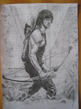 Rambo 2 by powmay