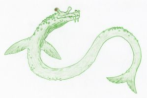 Crypt096A Cape Sable Serpent by DinoHunter2